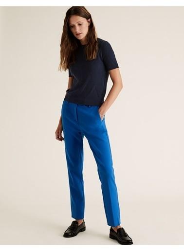 Marks & Spencer Mia Slim Ankle Grazer Pantolon Mavi